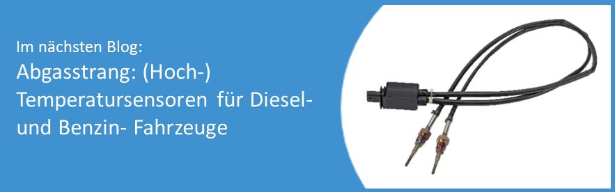 AB Elektronik Sachsen GmbH, Blog, Abgasstrang, Hochtemperatursensoren, Diesel, Benzin, Fahrzeuge