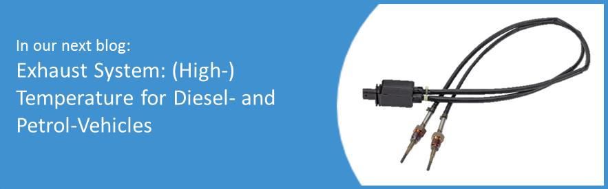 AB Elektronik Sachsen GmbH, Blog, exhaust system, high temperature sensors, diesel, petrol, vehicles